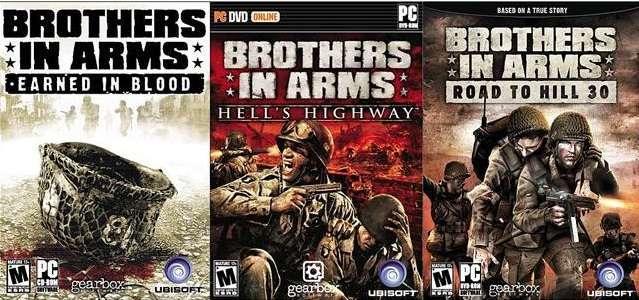 بازی Brothers in Arms: Earned in Blood Brothers in Arms: Road to Hill 30 Brothers in Arms: Hell's Highway