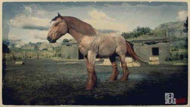 RDR2 Horses Ardennes BayRoanArdennes 1 3141 360 bzzt 390x220 - تکامل اسب سواری در بازی های ویدئویی از 1980 تا 2019