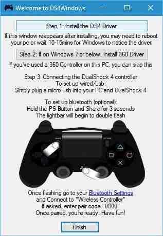 نرم افزار DS4Windows دی اس فور ویندوز