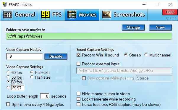 fraps alternative bzzt - دانلود نرم افزار Beepa Fraps - نمایش فریم + ظبط فیلم و شات از بازی ها جدیدترین نسخه فرَپس