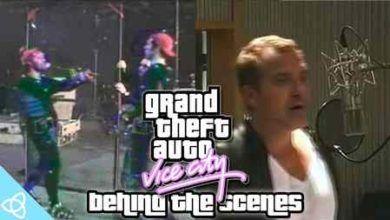 ویدئوی پشت صحنه بازی GTA : Vice City + ویدئو