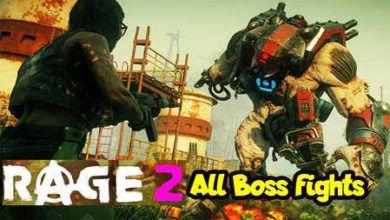 Photo of ویدیویی از همه باس فایت های بازی RAGE 2