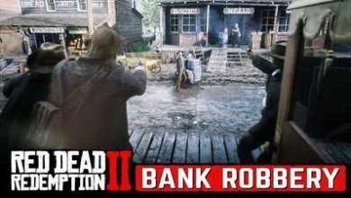 ویدئوی از مرحله اکشن و هیجان انگیز Bank Robbery بازی RDR2