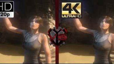 720p vs 4K مقایسه ویدئویی رزولوشن