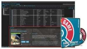 نرم افزار Game Collector