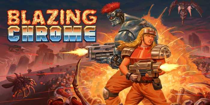 دانلود بازی Blazing Chrome - دانلود بازی سبک Contra
