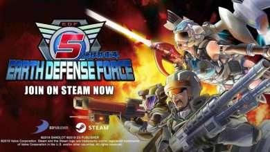 دانلود Earth Defense Force 5 برای pc - دانلود بازی نیروی دفاع از زمین 5
