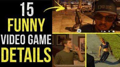 15 تا از جزئیات با مزه در بازی های ویدئویی