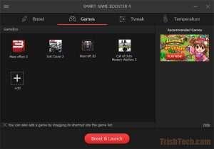 دانلود Smart Game Booster | نرم افزار بهینهسازی سیستم برای اجرای بازیها |