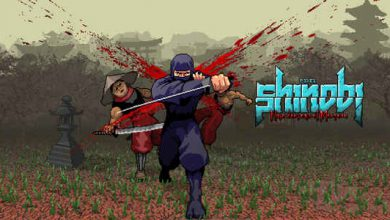 دانلود بازی Pixel Shinobi Nine demons of Mamoru