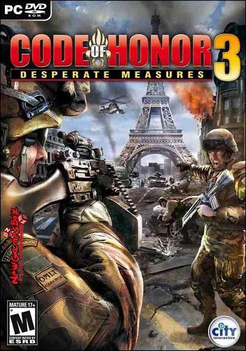 دانلود بازی Code of Honor 3: Desperate Measures رمز افتخار کد اف هانر ۳