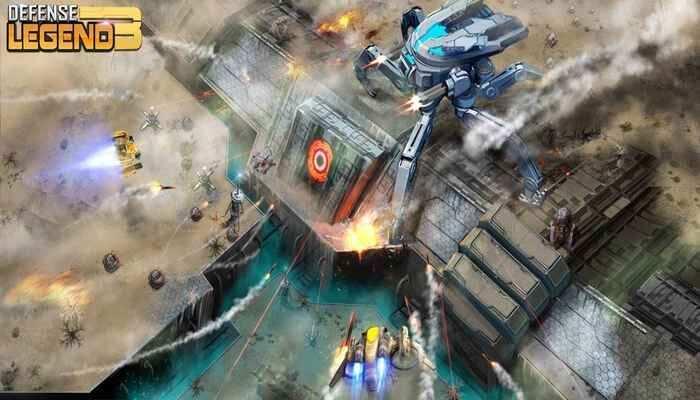 "Defense Legend 3 Future War Cover - دانلود بازی اندروید Defense Legend 3: Future War – بازی مسابقه ای و پرطرفدار ""رو به جلو بران"""