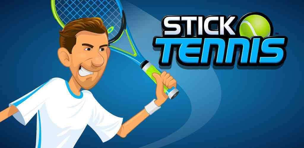"Stick Tennis Cover - دانلود بازی اندروید Stick Tennis – بازی ورزشی سرگرم کننده ""تنیس"""