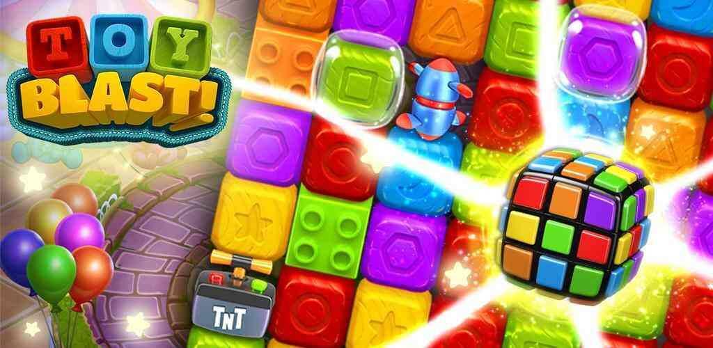 "Toy Blast Cover - دانلود بازی اندروید Toy Blast – بازی پازل و سرگرم کننده ""انفجار اسباب بازی ها"""