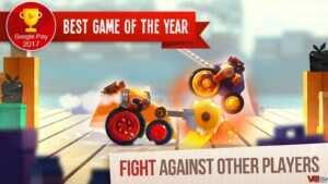 """CATS Crash Arena Turbo Stars 1 300x169 - دانلود بازی اندروید CATS: Crash Arena Turbo Stars – بازی اکشن و مبارزه ای """" نبرد گربه های استثنایی """""""