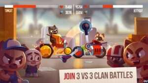 """CATS Crash Arena Turbo Stars 3 300x169 - دانلود بازی اندروید CATS: Crash Arena Turbo Stars – بازی اکشن و مبارزه ای """" نبرد گربه های استثنایی """""""