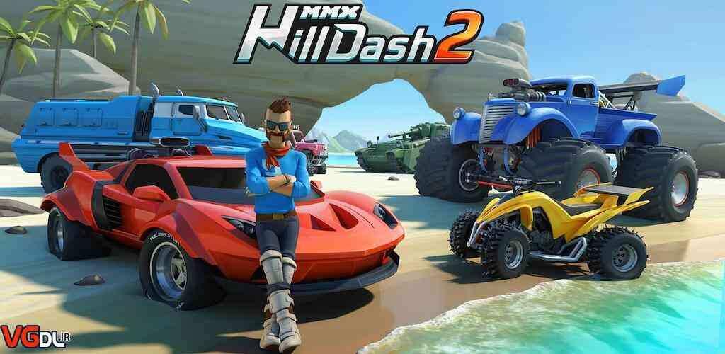 """دانلود بازی اندروید MMX Hill Dash 2 – بازی مسابقه ای و هیجان انگیز """" تپه نوردی ام ام اکس 2 """""""