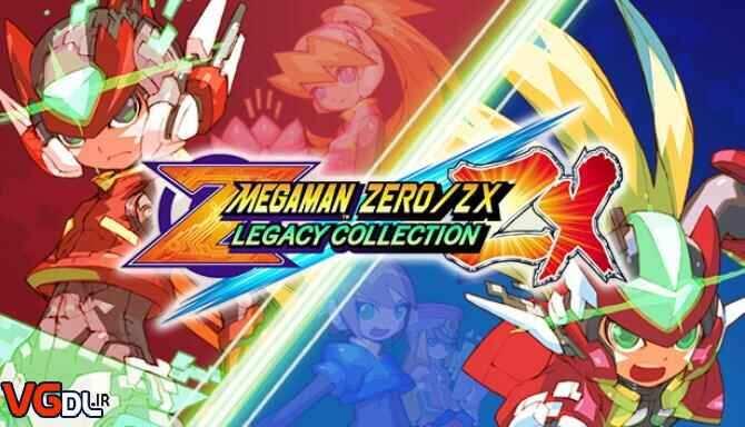 دانلود بازی Mega Man Zero / ZX Legacy Collection