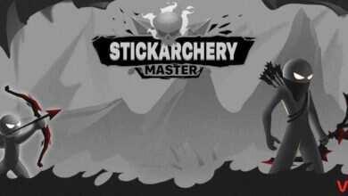 "Photo of دانلود بازی اندروید Stickarchery Master – بازی آرکید و سرگرم کننده ""آدمک های کماندار"""