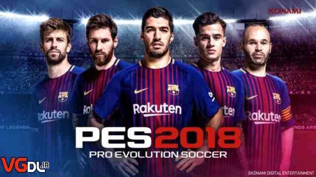 دانلود بازی Pro Evolution Soccer 2018