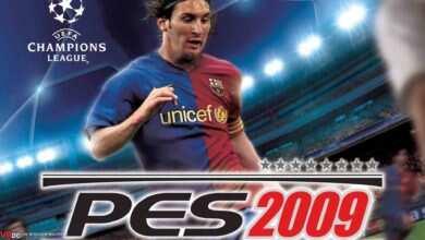 Photo of دانلود بازی Pro Evolution Soccer 2009 + all Update + نسخه فشرده کامل و کم حجم برای کامپیوتر(پی اس ۲۰۰۹)