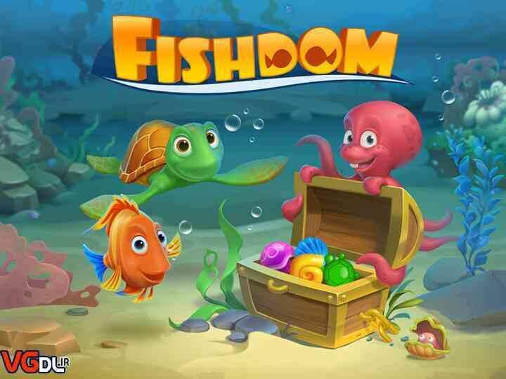دانلود بازی Fishdom: Deep Dive