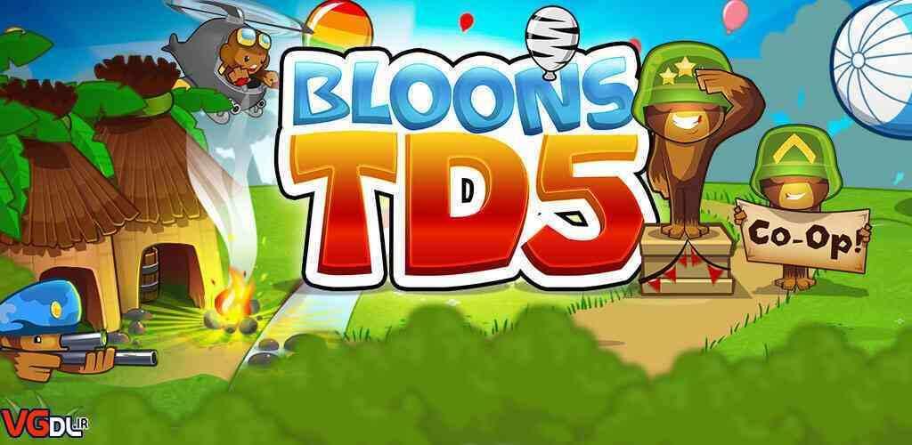 دانلود بازی Bloons TD 5