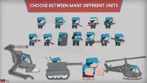 "Clone Armies 3 300x169 - دانلود بازی اندروید Clone Armies – بازی اکشن و محبوب"" ارتش سرخ ابی """
