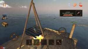 "Raft Survival Ultimate 7 300x169 - دانلود بازی اندروید Raft Survival : Ultimate – بازی شبیه ساز و محبوب"" بقا در اقیانوس """