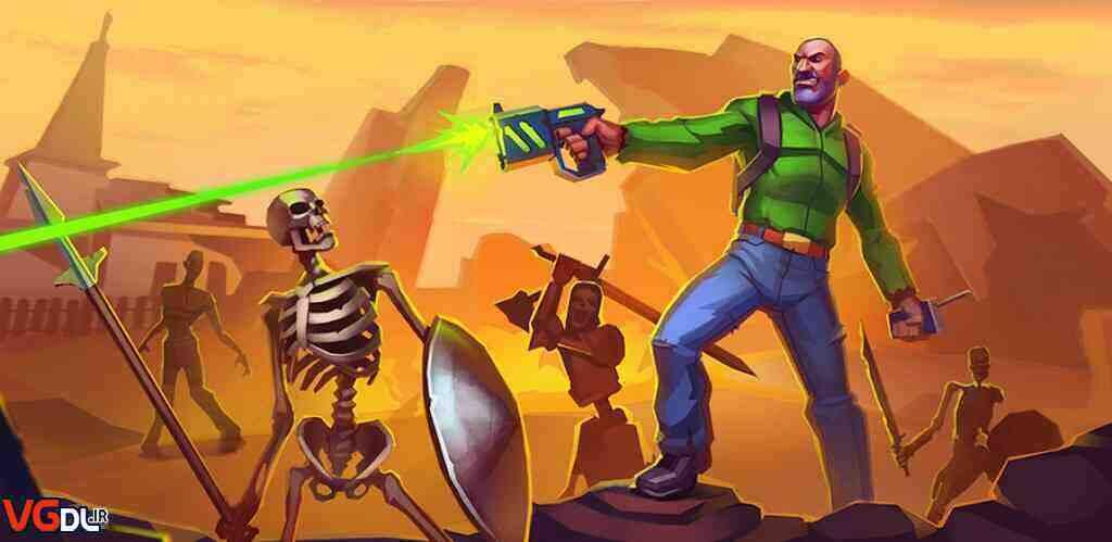 دانلود بازی Tegra: Crafting Survival Shooter