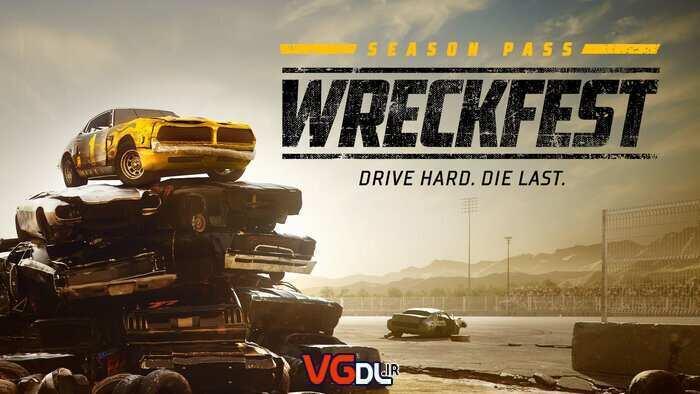 دانلود بازی Wreckfest American All Stars