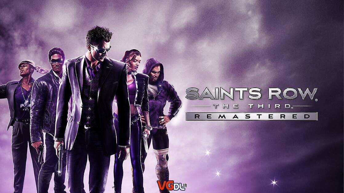 نسخه ریمستر Saints Row The Third Remastered دانلود بازی