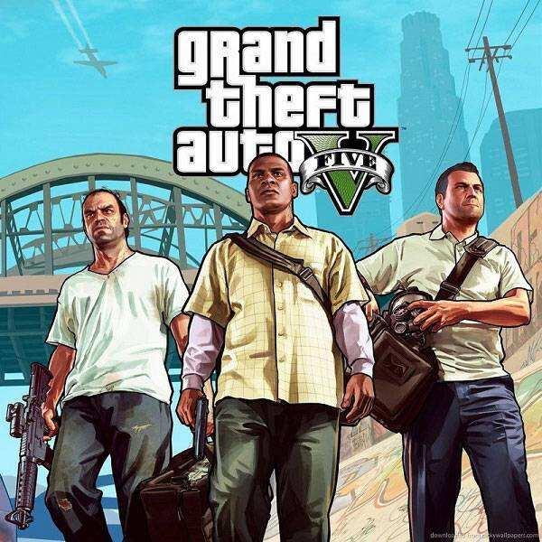 دانلود بازی GTA V جی تی ا وی Grand Theft Auto V