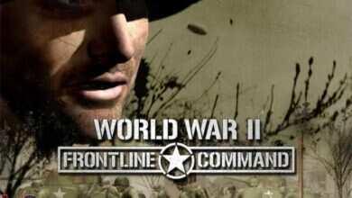 دانلود بازی کامپیوترWorld War II Frontline Command