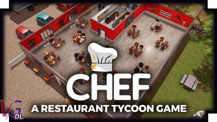 دانلود بازی کامپیوترChef A Restaurant Tycoon Game