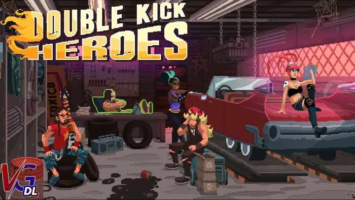 دانلود بازی کامپیوترDouble Kick Heroes