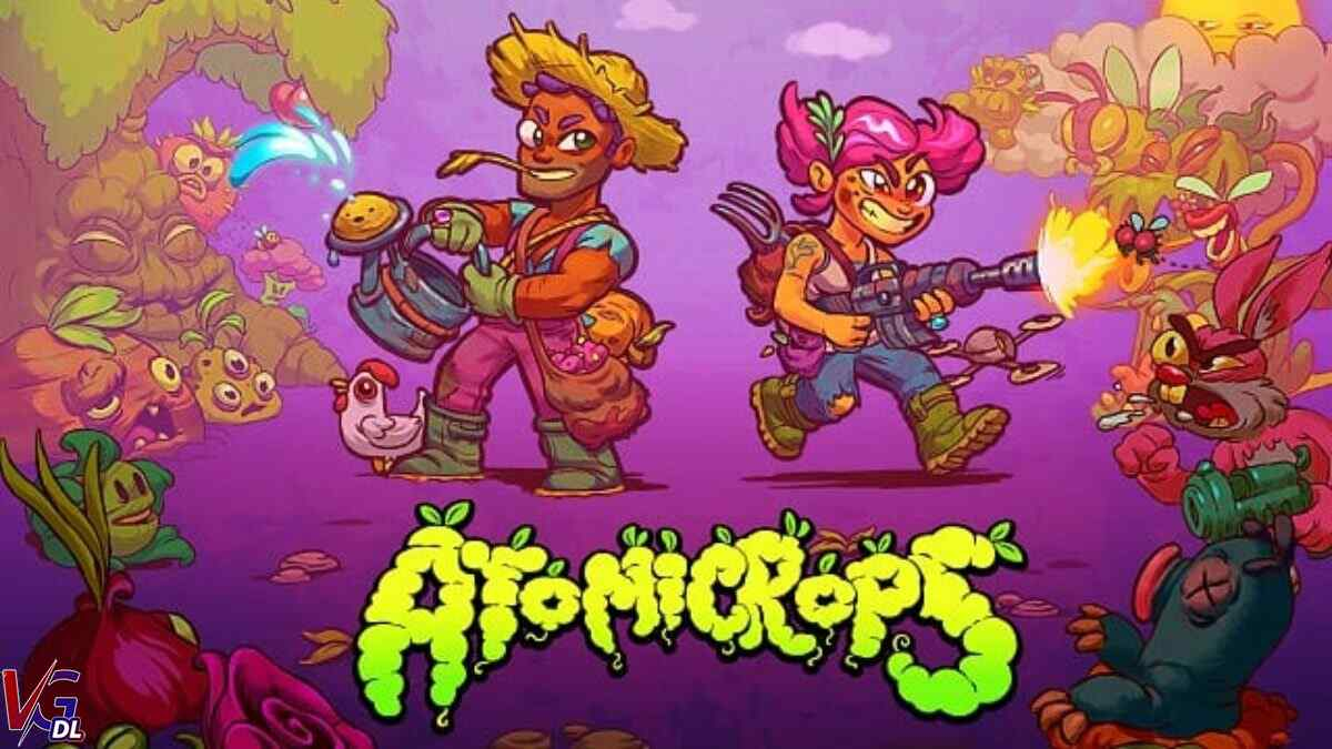 Atomicrops early access starts today on the Epic Games Store 1200x675 1 - دانلود بازی Atomicrops + all update نسخه GOG کم حجم و فشرده