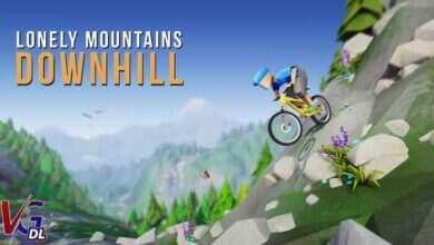 دانلود بازی کامپیوترLonely Mountains Downhill