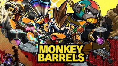 دانلود بازی کامپیوترMonkey Barrels