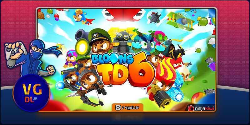 دانلود بازی کامپیوترBloons TD 6
