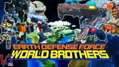 دانلود بازی کامپیوترEarth Defense Force WORLD BROTHERS