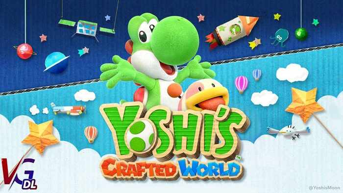 دانلود بازی کامپیوترYoshis Crafted World